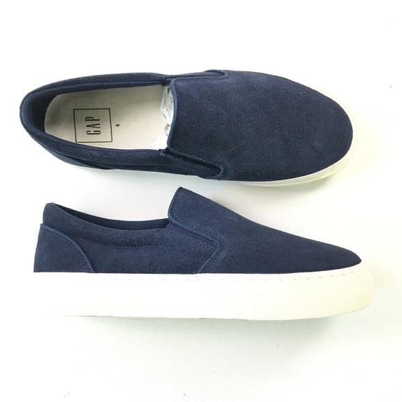 GAP Shoes | Womens Blue Slip On